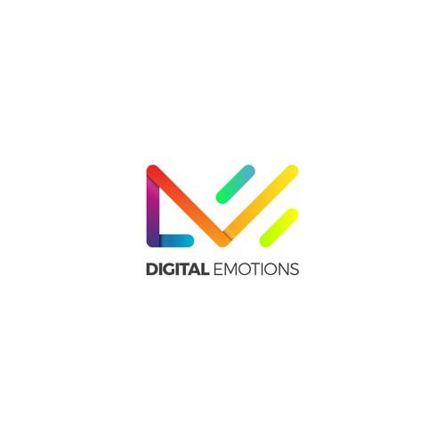 Digital emotions logo #2
