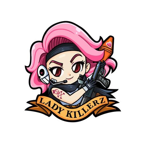 Lady Killerz sticker