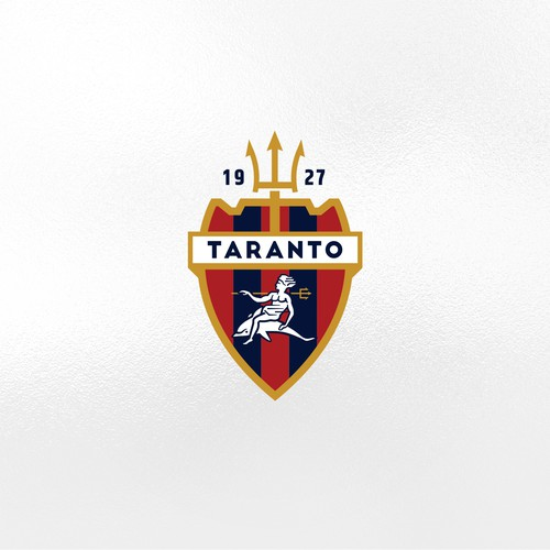 Crest design for the Taranto FC 1927 football team
