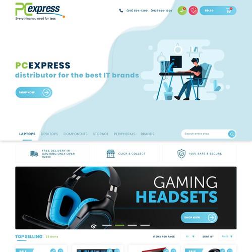 Design entry for online shop