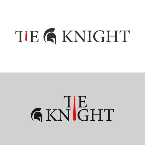 Logo concept for Tie Knight