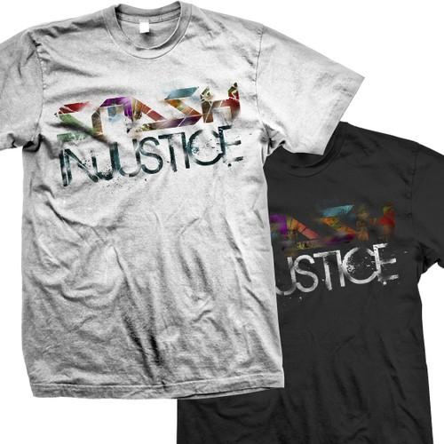 Smash Injustice T-Shirt Design