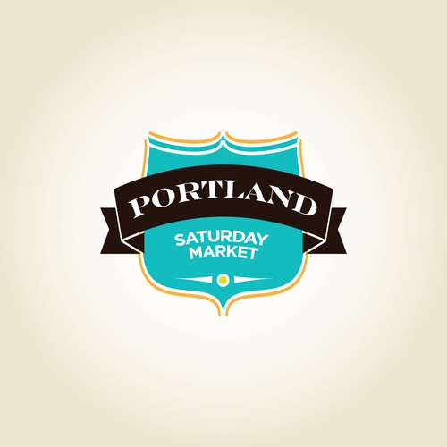 Portland Saturday Market  needs a new logo