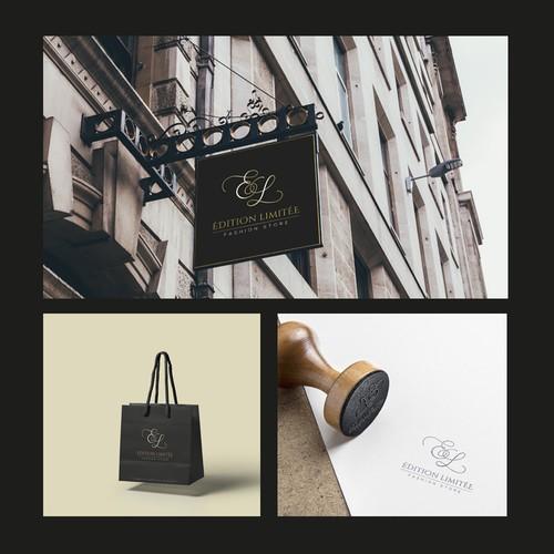 Logo Édition Limitée - Fashion store