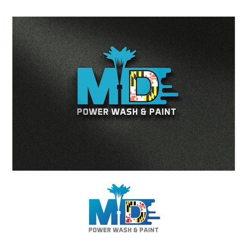 MD Power wash & paint