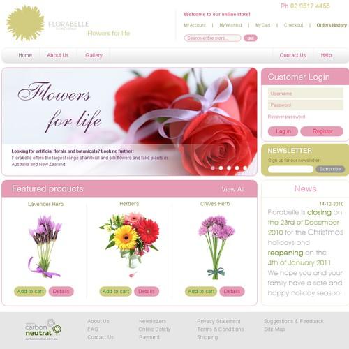 artificial flowers website