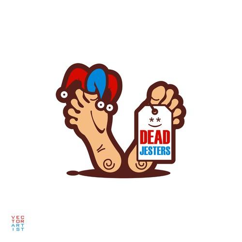 Dead Jesters Logo Illustration