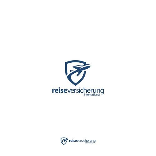 travel insurance Logo concept