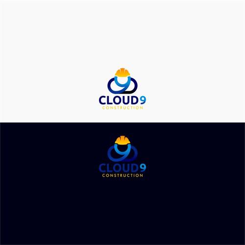 Logo Concept for Cloud 9 Construction
