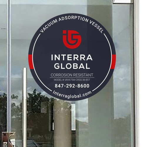Interra Global Door Sticker