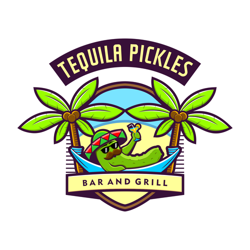 Fun and Classy Logo for Bar and Grill