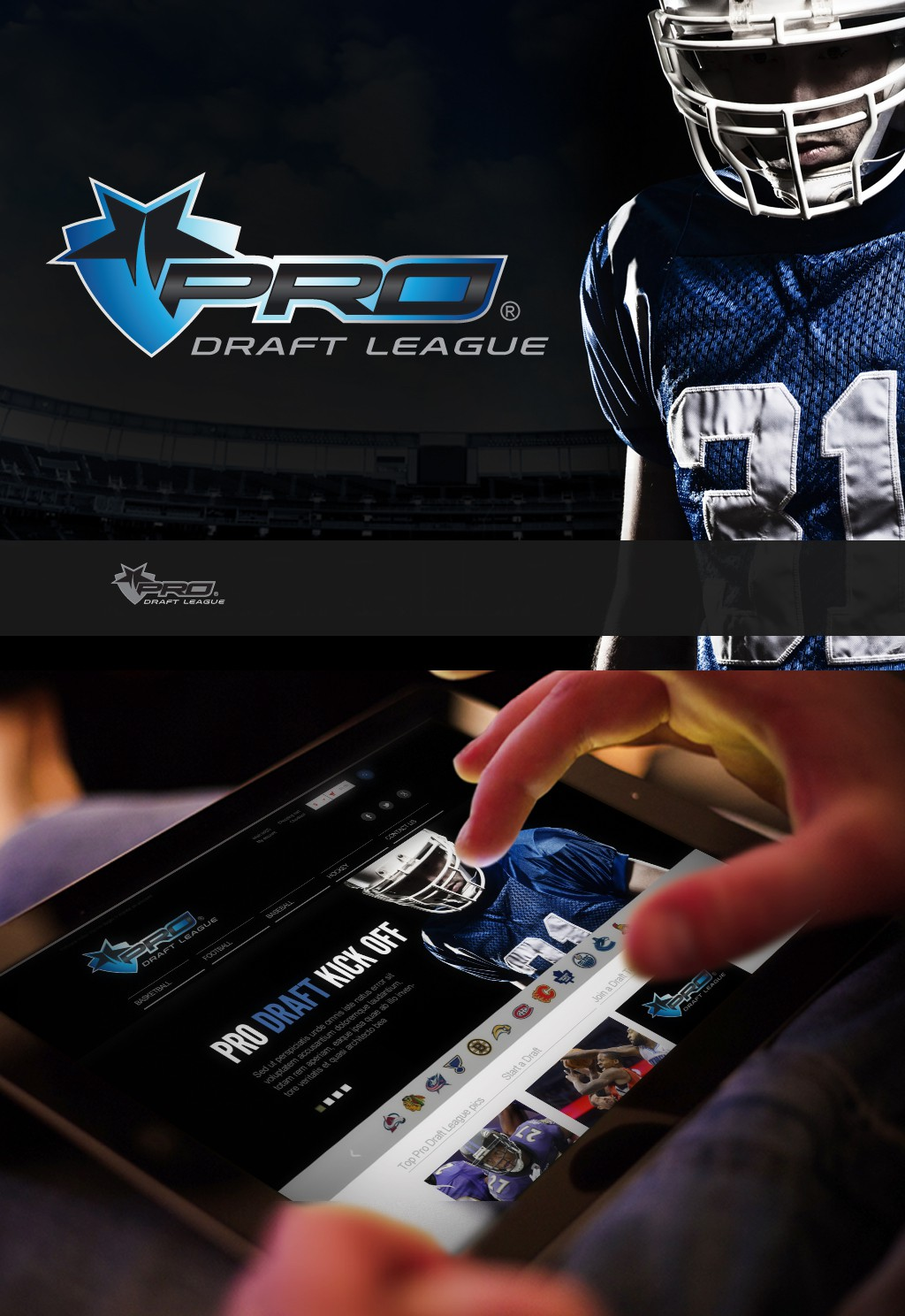 New logo wanted for PRO Draft League