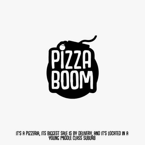 Bold Logo for a Pizzeria