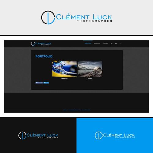 Logo Design for Clement Luck Photographer