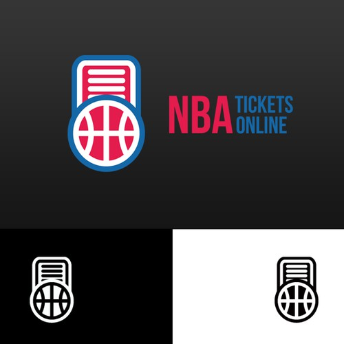 Help NBA Tickets Online with a new logo