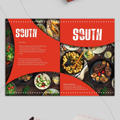 Folder concept for catering