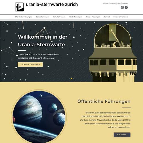 Urania-Sternwarte Zürich / Urania-Observatory Zurich