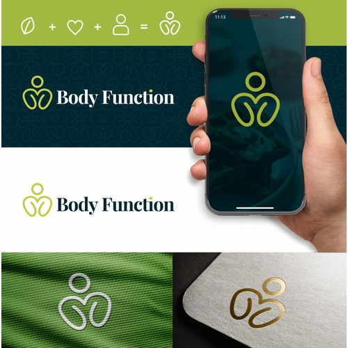 Design a simple logo for a wellness startup