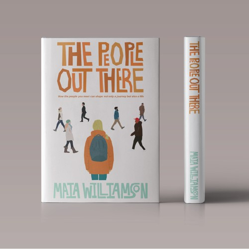 The People Out There book design