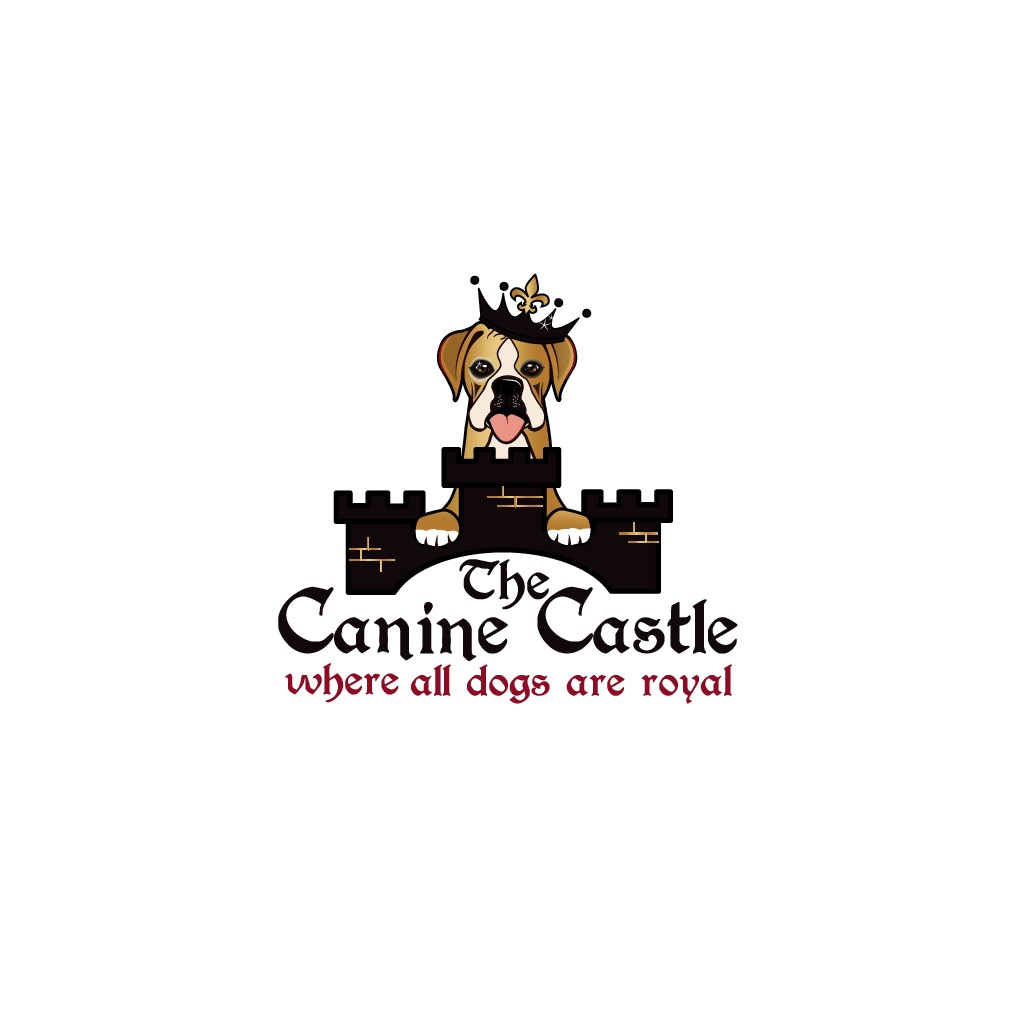 Logo for The Canine Castle (an all-inclusive pet resort)