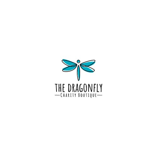 Logo design for a charity boutique.