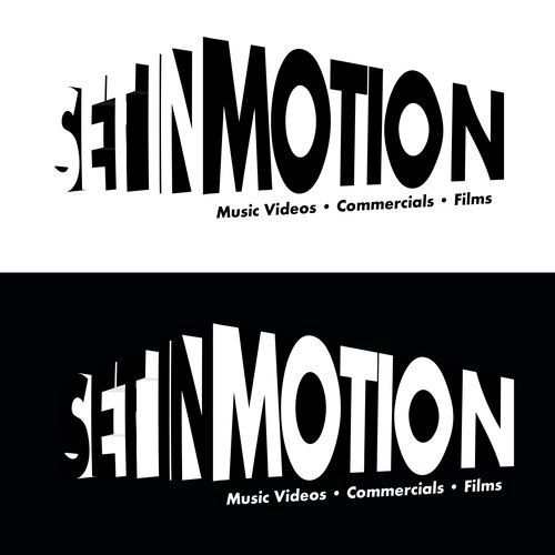 Set in Motion logo for production company