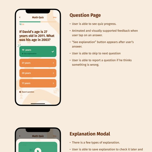 Case Study for Educational Quiz App