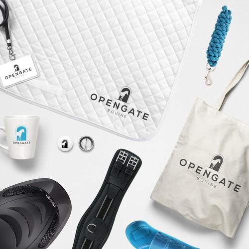 Opengate Equine Branding