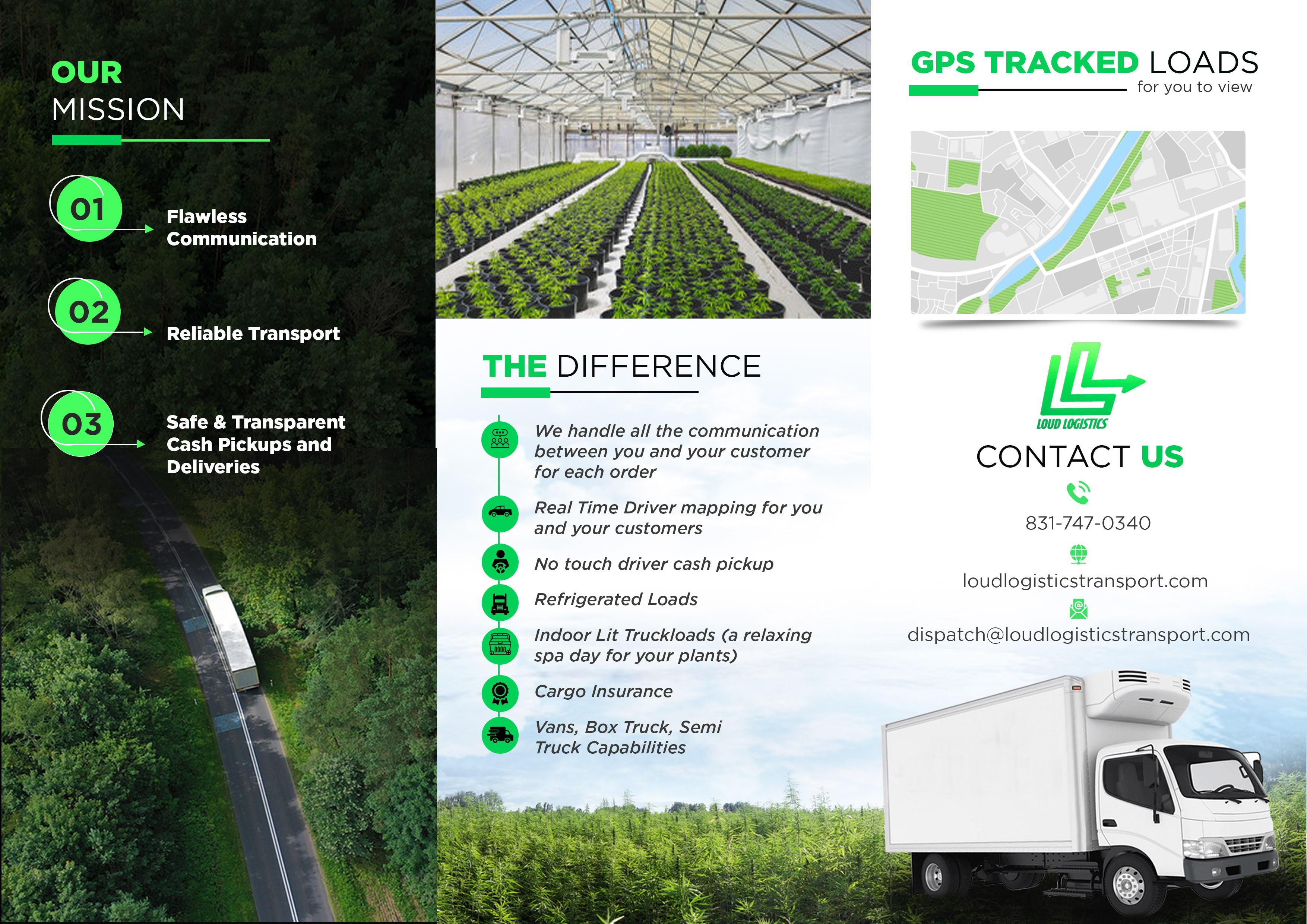 Cannabis and Hemp Trucking Brochure