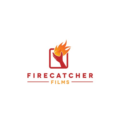 create a logo for Firecatcher Films for me to use in my documentary credits