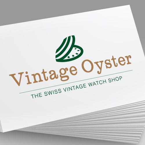 My vintage watch shop is in need of a unique logo!