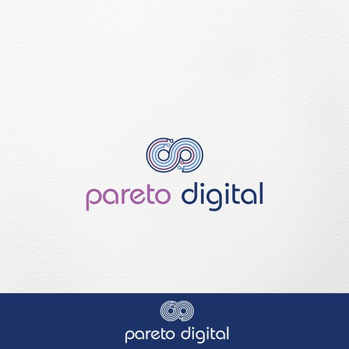 Logo for digital agency