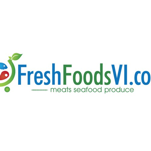Help FreshFoodsVI.com with a new logo