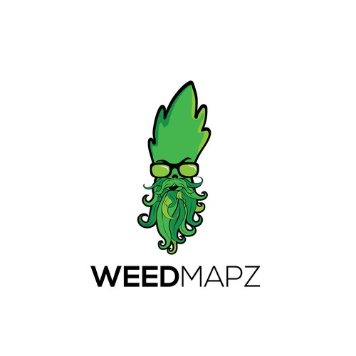 Logo for weedmapz
