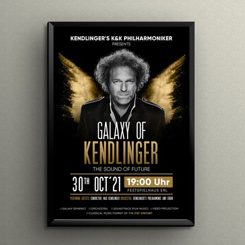 Galaxy of Kendlinger in Concert Poster