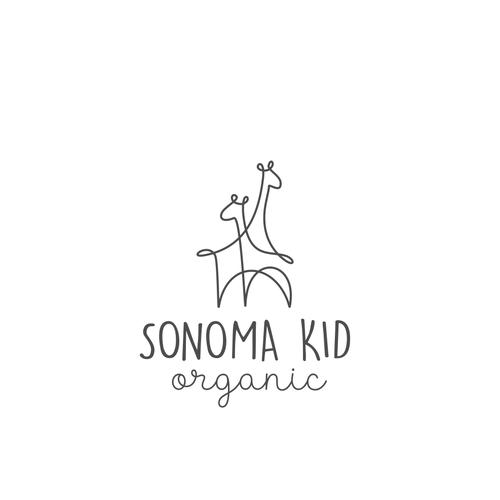 Organic design for children's brand