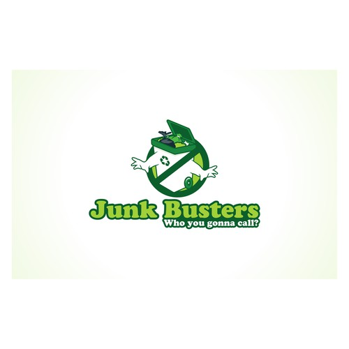 Logo for Junk Busters Limited - We also need an A5 flyer designedafter logo