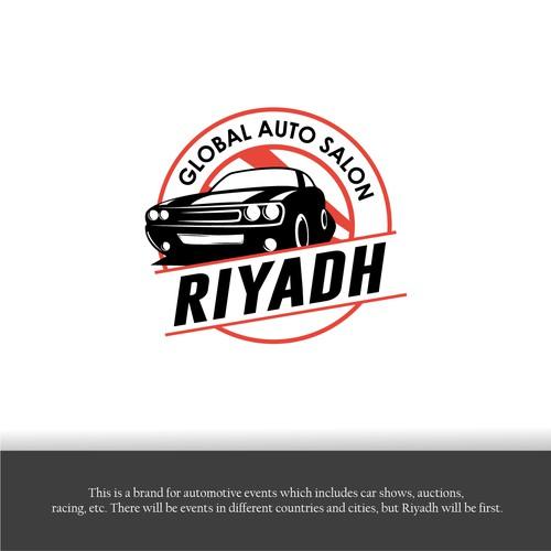 """Design logo EXHIBITION cars """" GAS"""""""