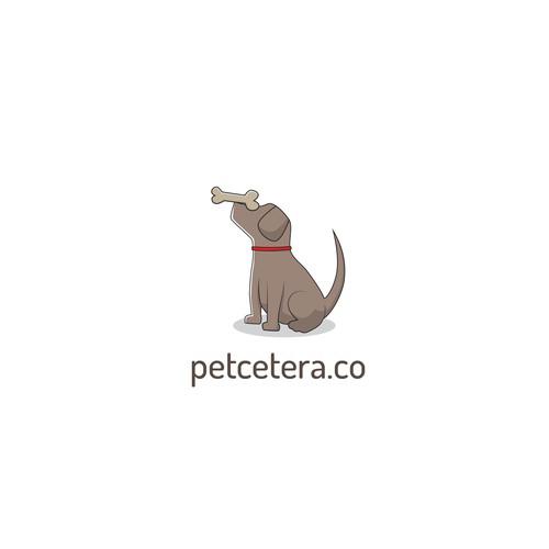 Cute Pup Logo for a Pet Company