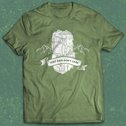 T Shirt Design for Outdoor/Hiking/Camping