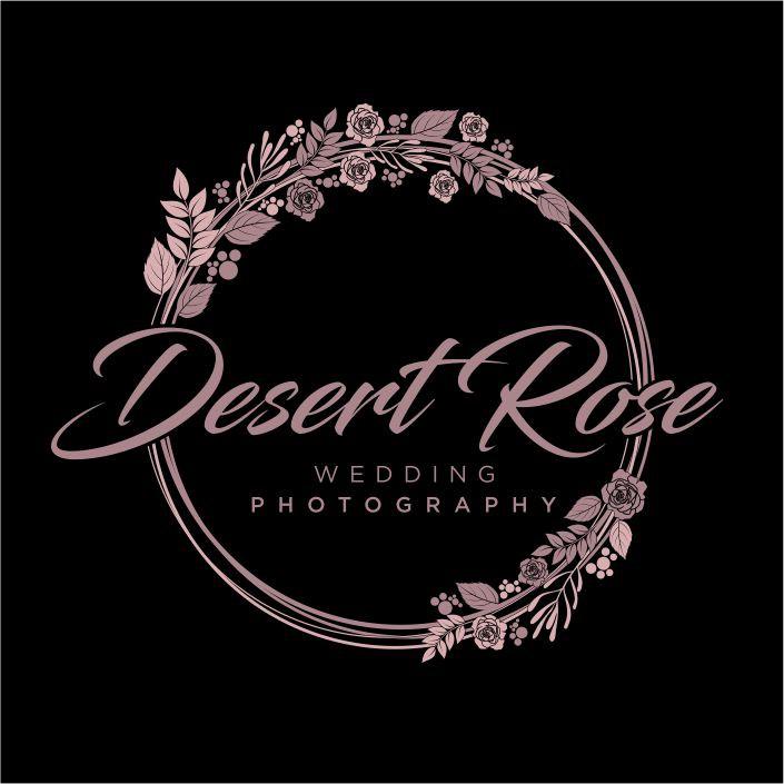 Desert Rose Wedding Photography LOGO / Watermark