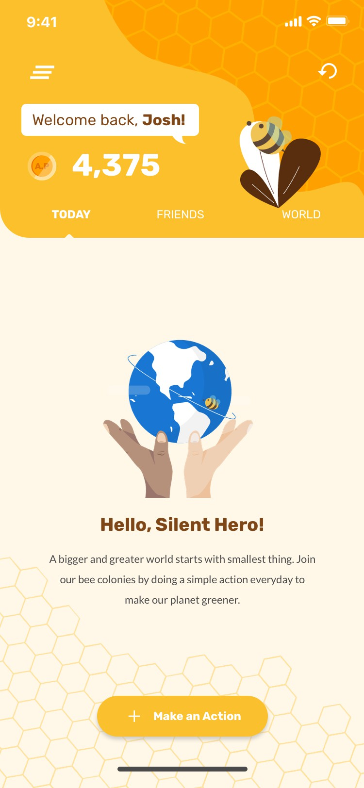 Be an ActionBee and help the world with your design
