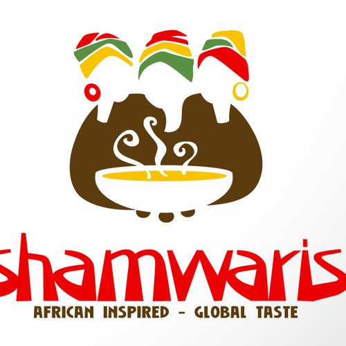 LOGO for AFRICAN THEMED RESTAURANT