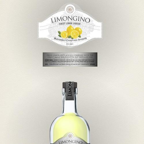 label liquor bottle