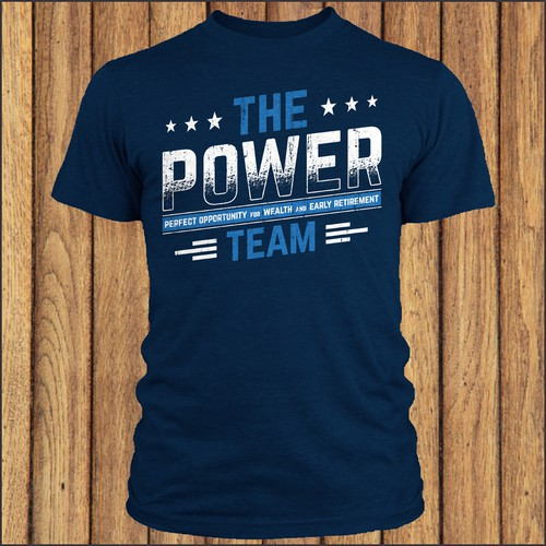 #1 Sales team needs badass t-shirt design.