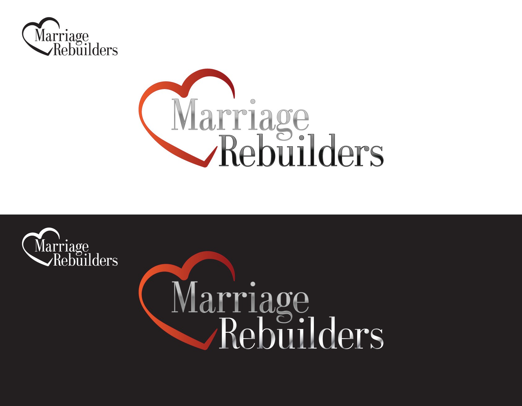Help Marriage Rebuilders with a new logo