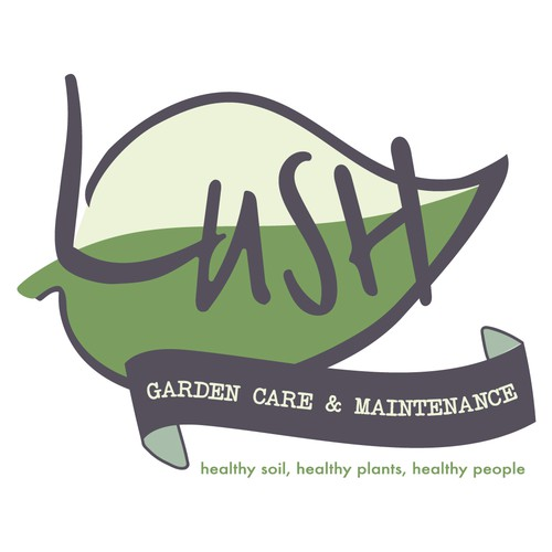 Organic Illustrative Logo for Gardening Company