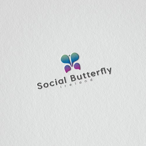 minimal logo concept for internet base company