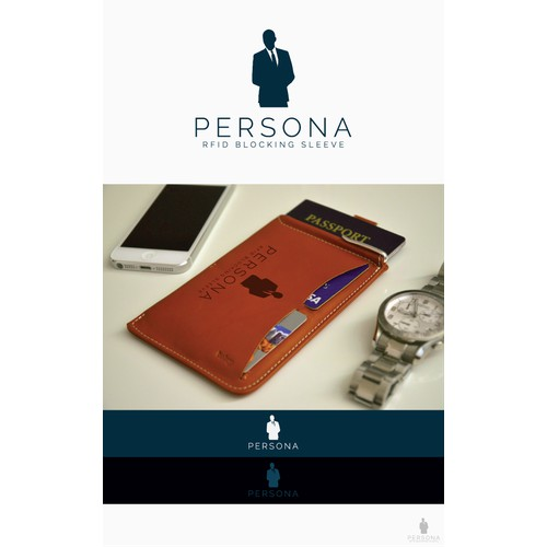 """Create a logo for """"Persona,"""" A Secret Agent inspired security brand."""