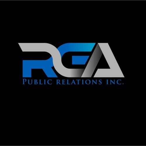 Logo design for RGA Public Relations Inc.